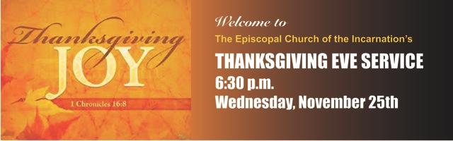 Thanksgiving-Eve